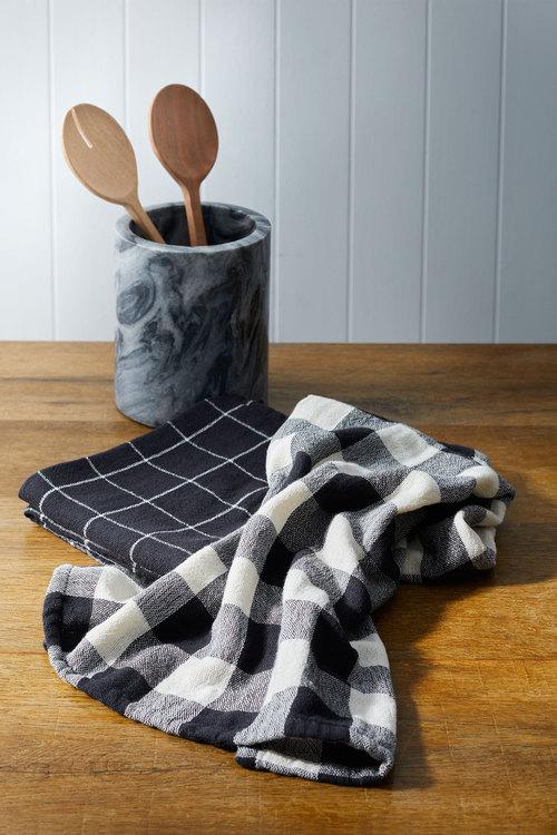 Gingham Tea Towel Set of Two