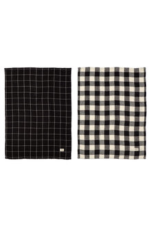 Gingham Tea Towel Set of Two - 254582
