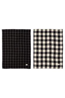 Gingham Tea Towel Set of Two - 254582