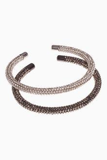 Next Sparkle Tube Bracelets Two Pack - 254619