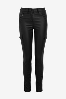 Next Coated Utility Skinny Jeans