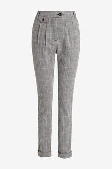 Next Check Peg Trousers - 254672
