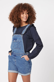 Next Dungaree Shorts - 254684