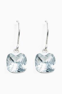 Next Square Jewel Drop Earrings - 254695