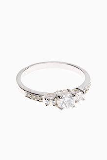 Next Cubic Zirconia Stone Set Ring - 254724