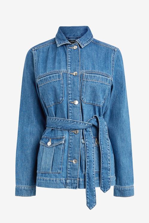 Next Belted Denim Jacket