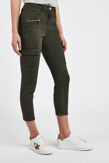 Next Cropped Utility Skinny Jeans-Tall - 254793