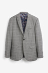 Next Marzotto Signature Check Suit: Jacket-Tailored Fit