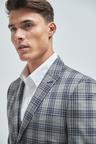 Next Check Suit: Jacket-Super Skinny Fit
