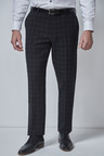 Next Check Tuxedo Suit: Trousers