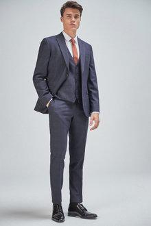 Next Check Suit: Jacket - 254803