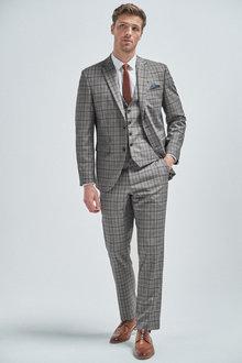 Next Check Suit: Jacket - 254804