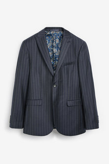 Next Empire Mills Signature Stripe Suit: Jacket-Tailored Fit - 254806