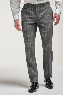 Next Check Suit: Trousers-Tailored Fit - 254809