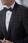 Next Check Tuxedo Suit: Jacket