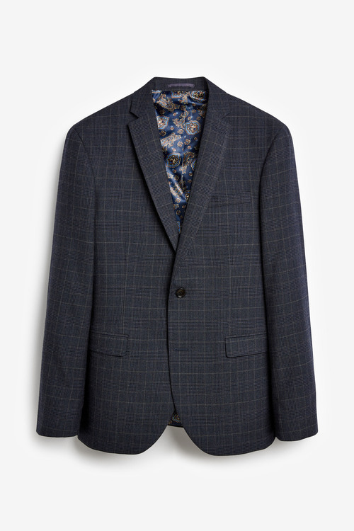 Next Empire Mills Check Suit: Jacket