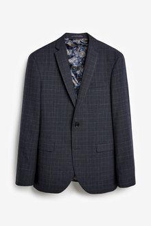 Next Empire Mills Check Suit: Jacket - 254926