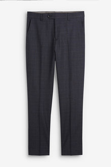 Next Empire Mills Signature Check Suit: Trousers - 254927