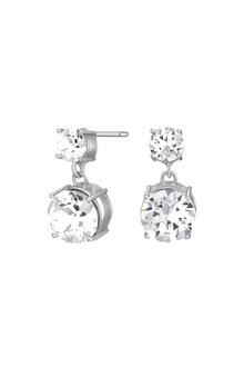 Mestige Silver Lauren Earrings with Swarovski® Crystals - 255015