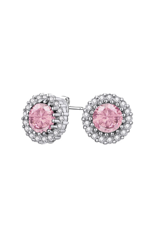 Mestige Silver Mallory Earrings with Swarovski® Crystals