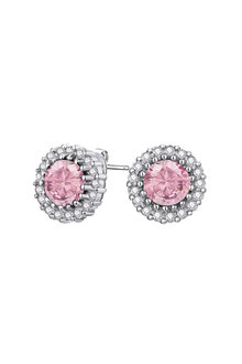 Mestige Silver Mallory Earrings with Swarovski® Crystals - 255018