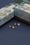 Mestige Silver Samira Earrings with Swarovski® Crystals
