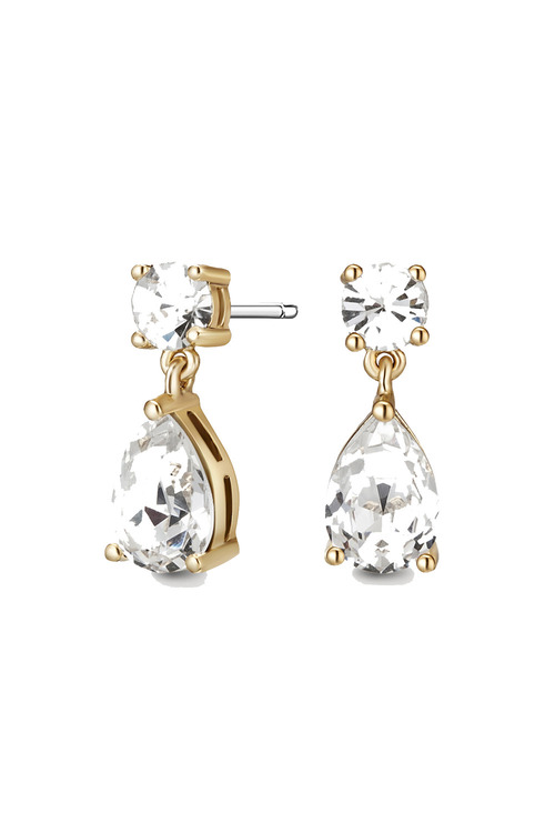 Mestige Gold Gold Samira Earrings with Swarovski® Crystals