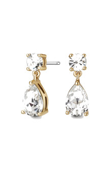 Mestige Gold Gold Samira Earrings with Swarovski® Crystals - 255022