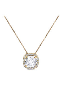 Mestige Gold Golden Charity Necklace with Swarovski® Crystals - 255031