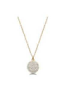 Mestige Gold Golden Genesis Necklace with Swarovski® Crystals - 255036