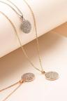 Mestige Rose Rose Gold Genesis Necklace with Swarovski® Crystals