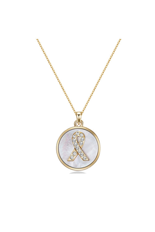 Mestige Gold Gold Hope Necklace with Swarovski® Crystals