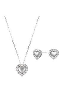 Mestige Silver Lovin You Set with Swarovski® Crystals - 255050