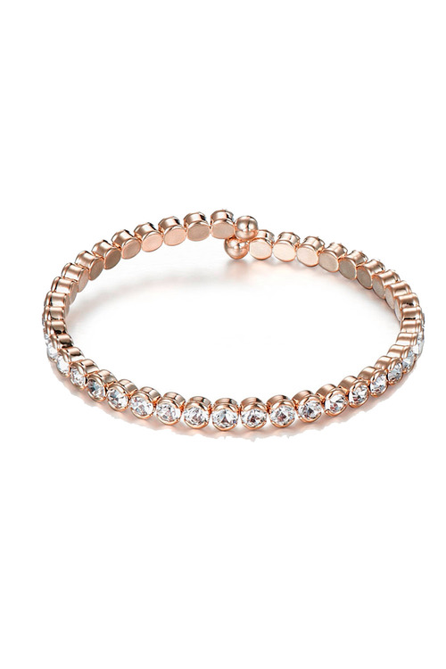 Mestige Rose Rose Gold Luxurious Set with Swarovski® Crystals
