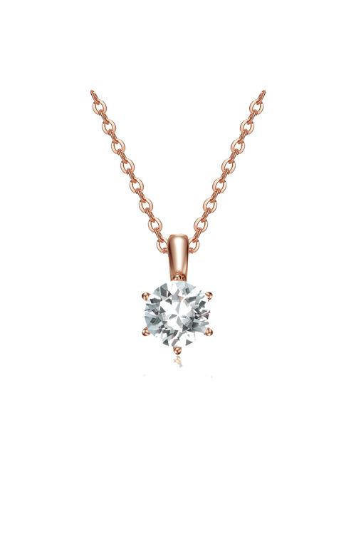 Mestige Rose Rose Gold Luxurious Set with Swarovski® Crystals