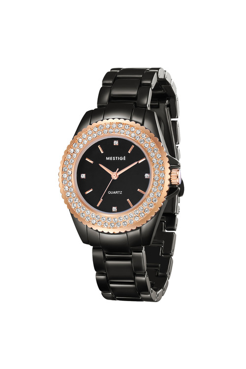 Mestige Rose The Blaire in Rose Gold with Swarovski® Crystals