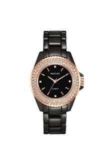 Mestige Rose The Blaire in Rose Gold with Swarovski® Crystals - 255059