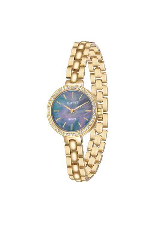 Mestige Gold The Casey in Gold with Swarovski® Crystals