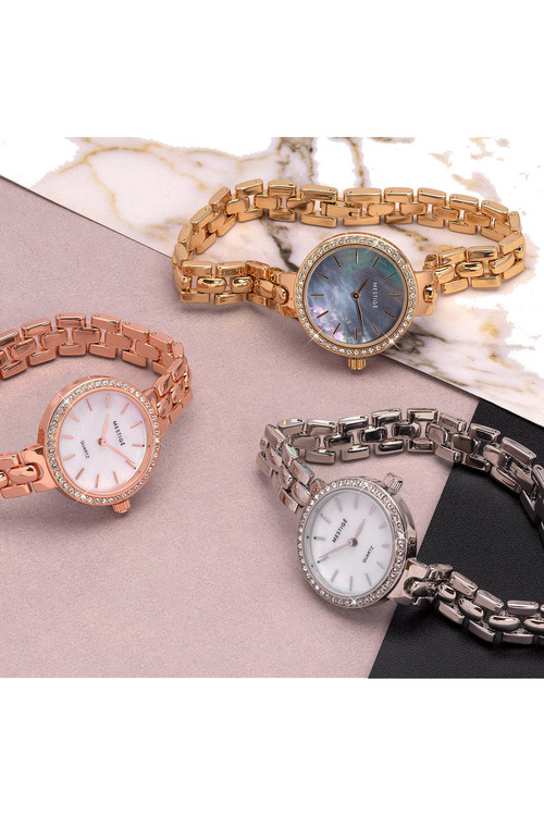 Mestige Rose The Casey in Rose Gold with Swarovski® Crystals