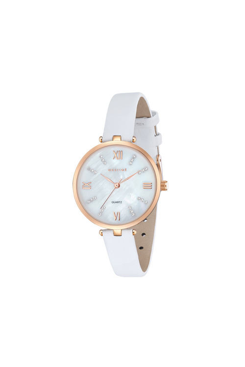 Mestige Rose The Grace in White with Swarovski® Crystals