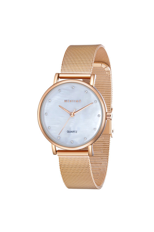 Mestige Rose The Harriet in Rose Gold with Swarovski® Crystals