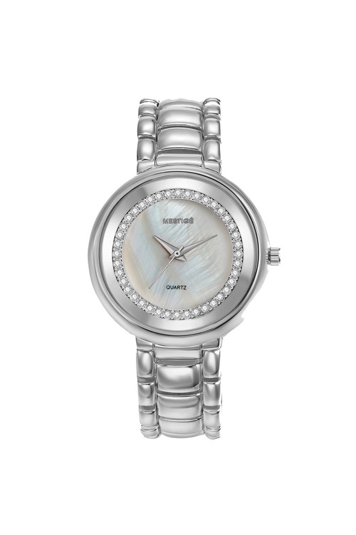 Mestige Silver The Lewis with Swarovski® Crystals