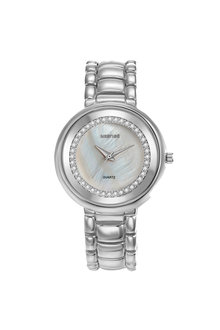 Mestige Silver The Lewis with Swarovski® Crystals - 255081
