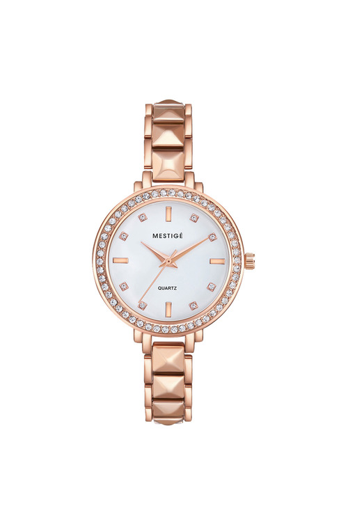 Mestige Rose The Virginia in Rose Gold with Swarovski® Crystals