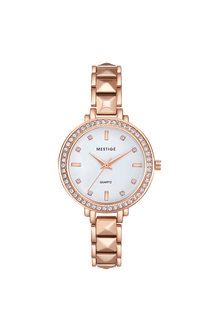 Mestige Rose The Virginia in Rose Gold with Swarovski® Crystals - 255086