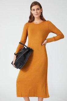 Grace Hill Swing Midi Dress - 255095