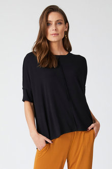 Grace Hill Panelled Tee - 255097