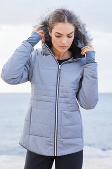 Isobar Outdoors Convertible Quilted Jacket - 255120