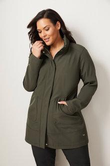Isobar Plus Longline Softshell Jacket - 255124