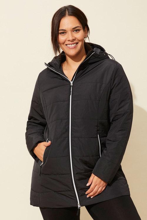 Isobar Plus Longline Puffer Jacket